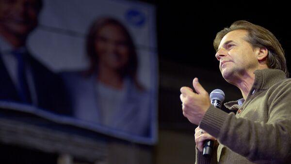 Luis Lacalle Pou, candidato por el Partido Nacional en las elecciones generales de Uruguay - Sputnik Mundo