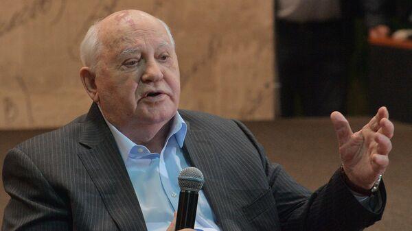 Mijaíl Gorbachov, exlíder soviético (archivo) - Sputnik Mundo