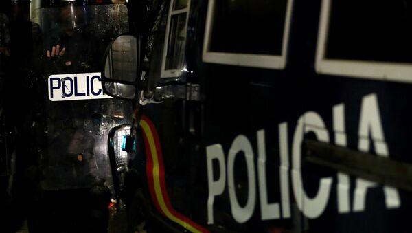 La Policía de Barcelona - Sputnik Mundo