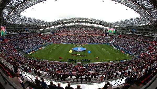 El estadio Kazan Arena durante la Copa Confederaciónes 2017 (archivo) - Sputnik Mundo