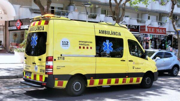 Ambulancia catalana - Sputnik Mundo