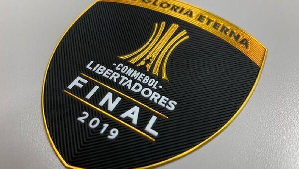 El parche oficial de la final de la Copa Libertadores de América 2019 - Sputnik Mundo