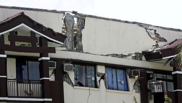 Terremoto en Filipinas - Sputnik Mundo