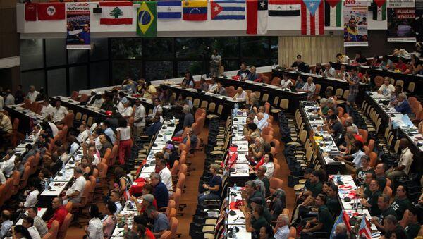 Encuentro Antiimperialista de Solidaridad, por la Democracia y contra el Neoliberalismo - Sputnik Mundo