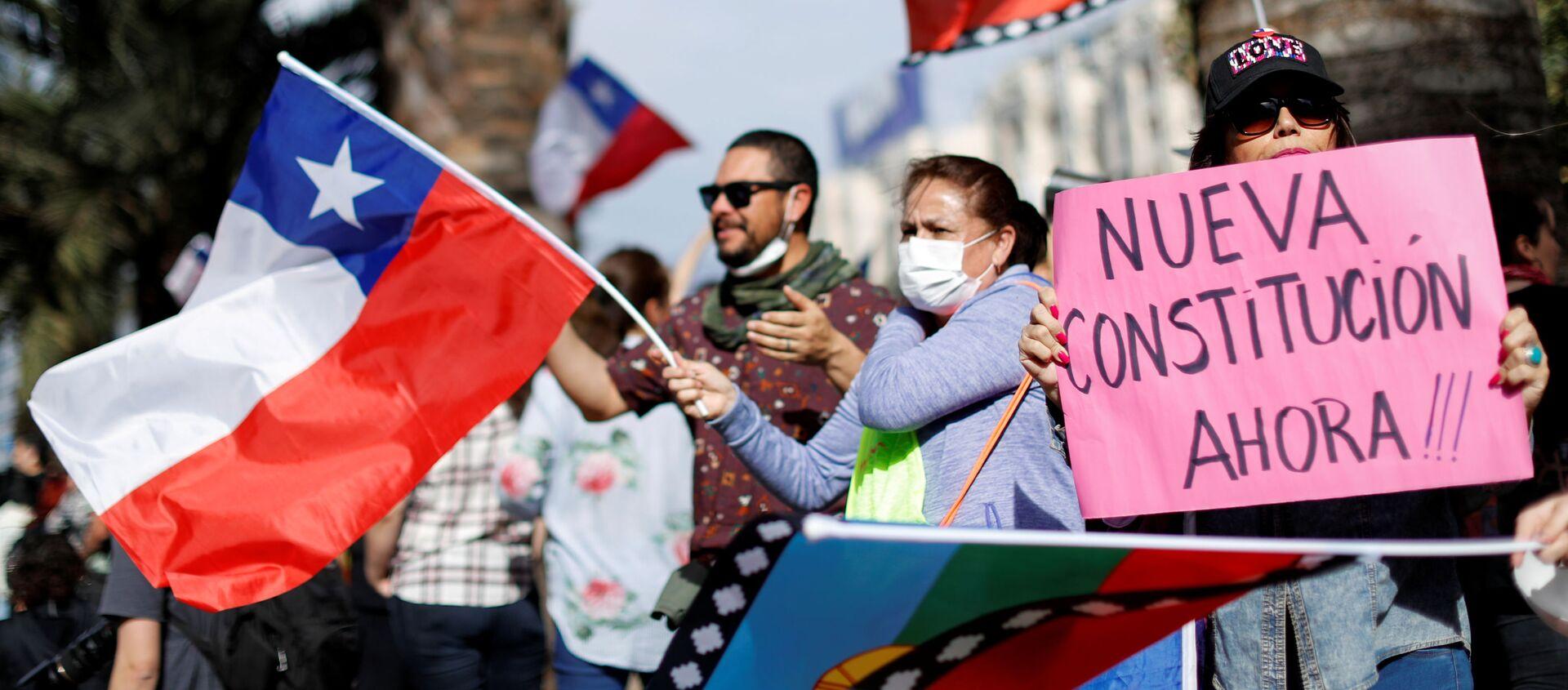 Protestas en Chile - Sputnik Mundo, 1920, 08.11.2019