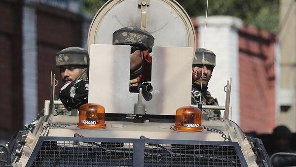 Militares del Ejército de la India en Cachemira (archivo) - Sputnik Mundo