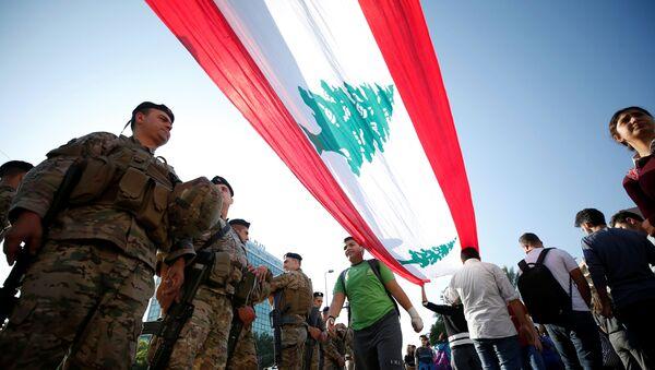 La bandera del Líbano - Sputnik Mundo