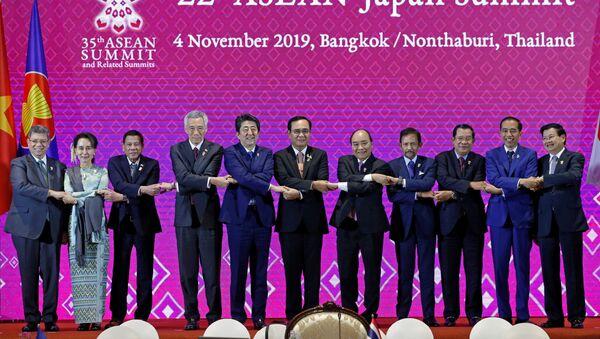 El foro de ASEAN en Tailandia - Sputnik Mundo