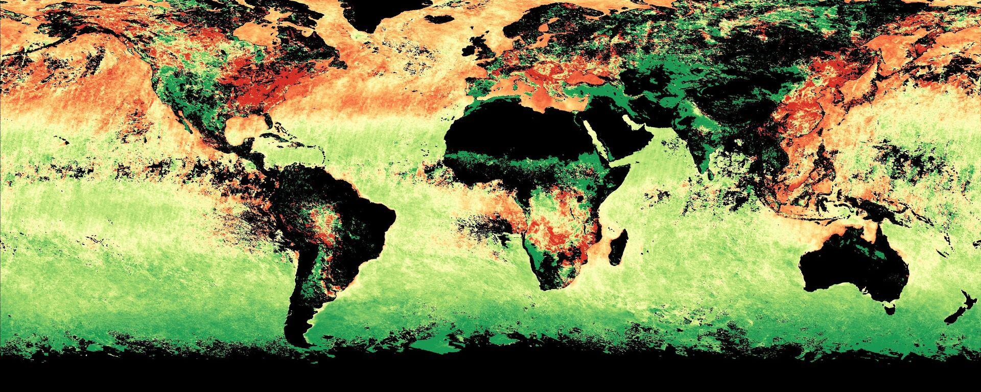Cambios en la atmósfera terrestre - Sputnik Mundo, 1920, 22.04.2021