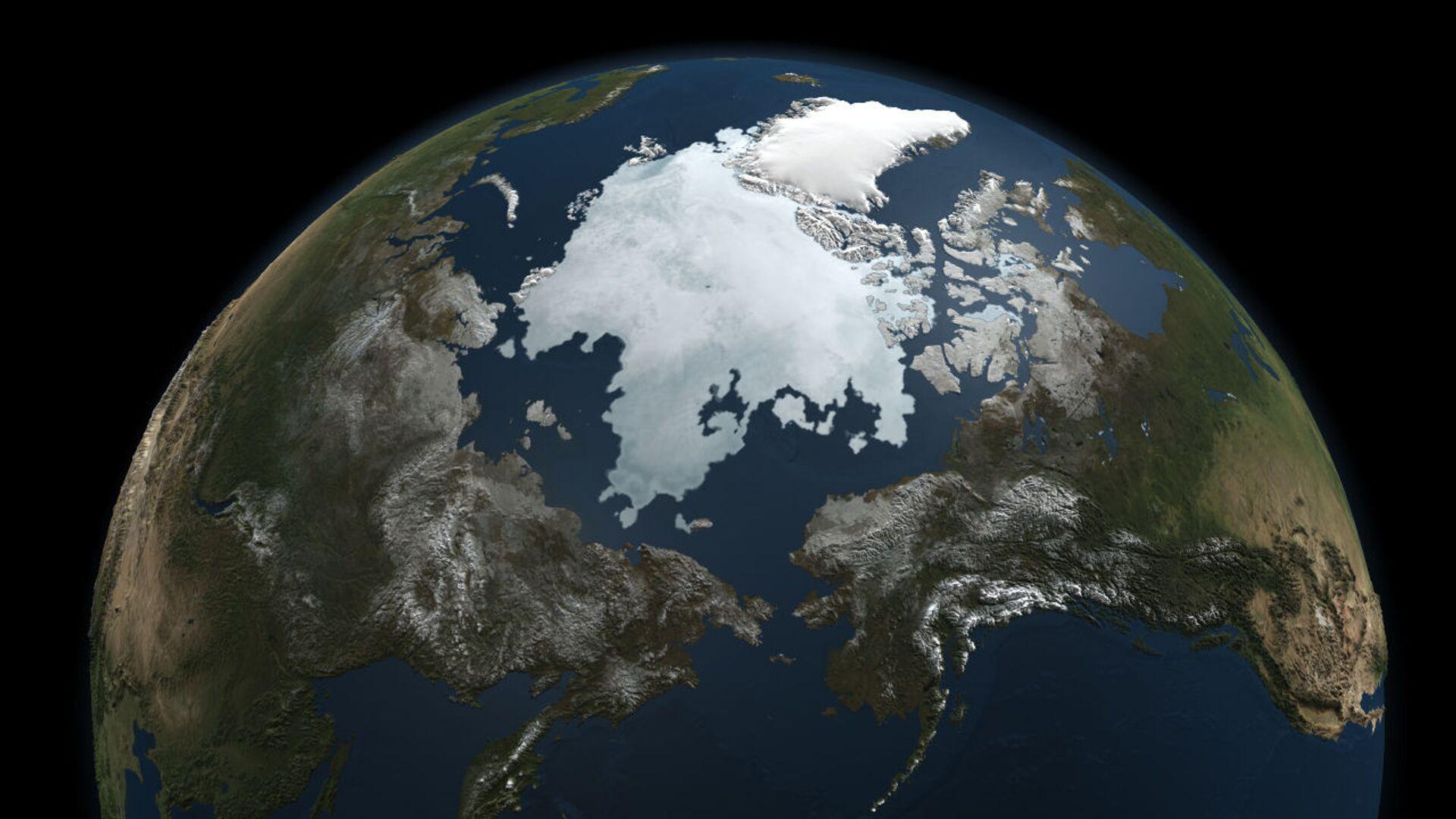 Hielo en el océano Ártico - Sputnik Mundo, 1920, 07.10.2021