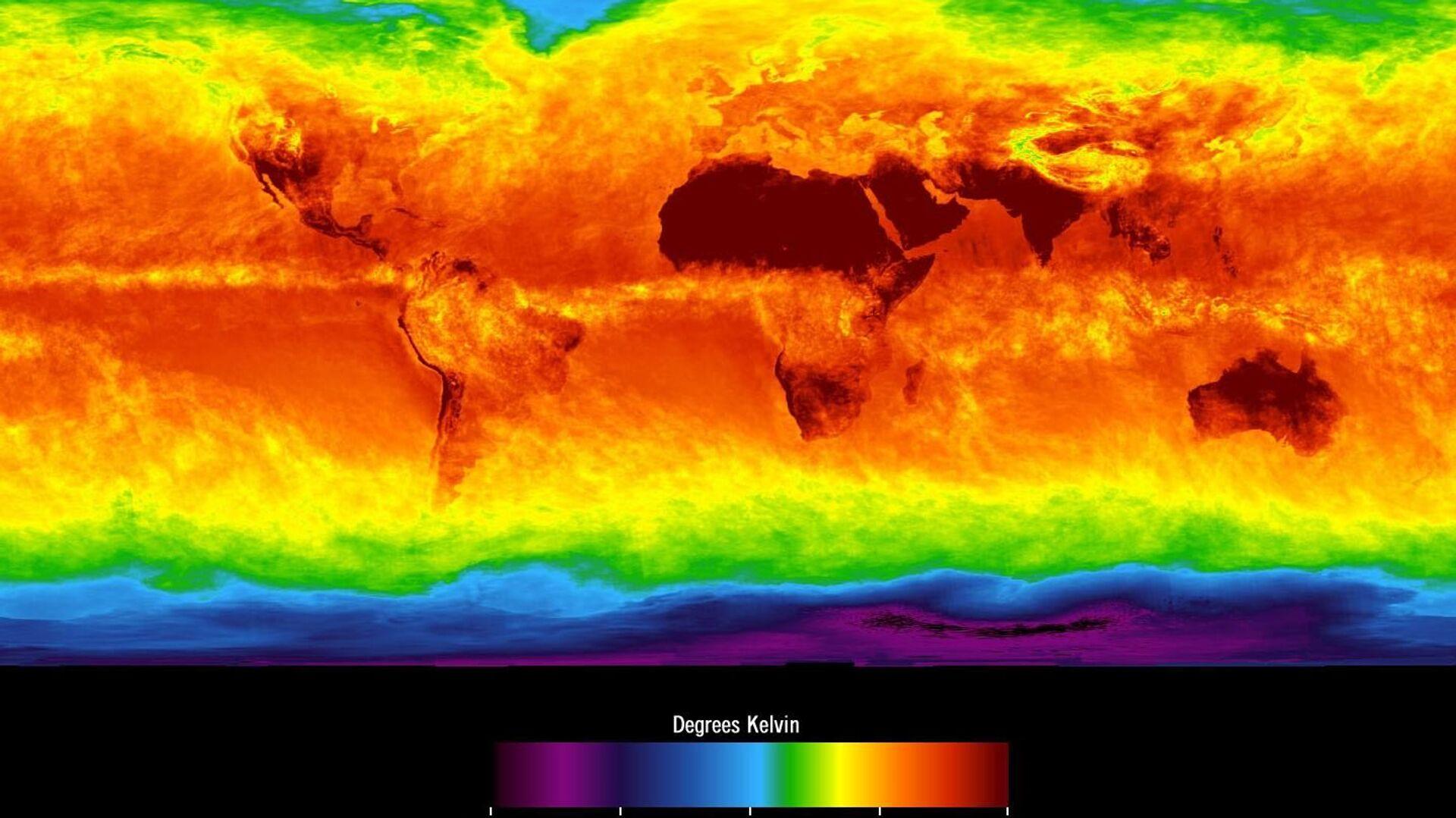 Mapa climático mundial - Sputnik Mundo, 1920, 20.09.2021