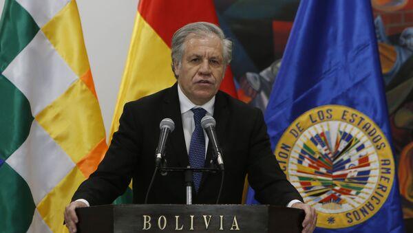 Luis Almagro, el secretario general de la OEA  - Sputnik Mundo