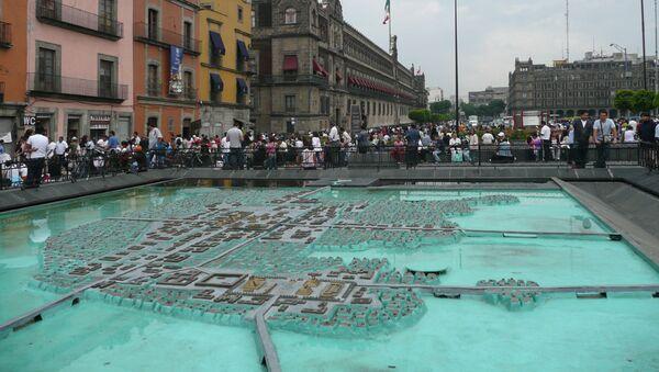 El modelo de Tenochtitlan en la Ciudad de México - Sputnik Mundo