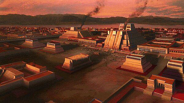 Tenochtitlán, capital del Imperio mexica - Sputnik Mundo