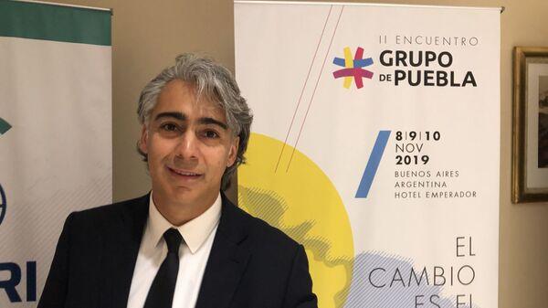Marco Enríquez-Ominami, fundador del Grupo de Puebla - Sputnik Mundo