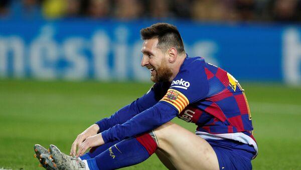 Leo Messi - Sputnik Mundo