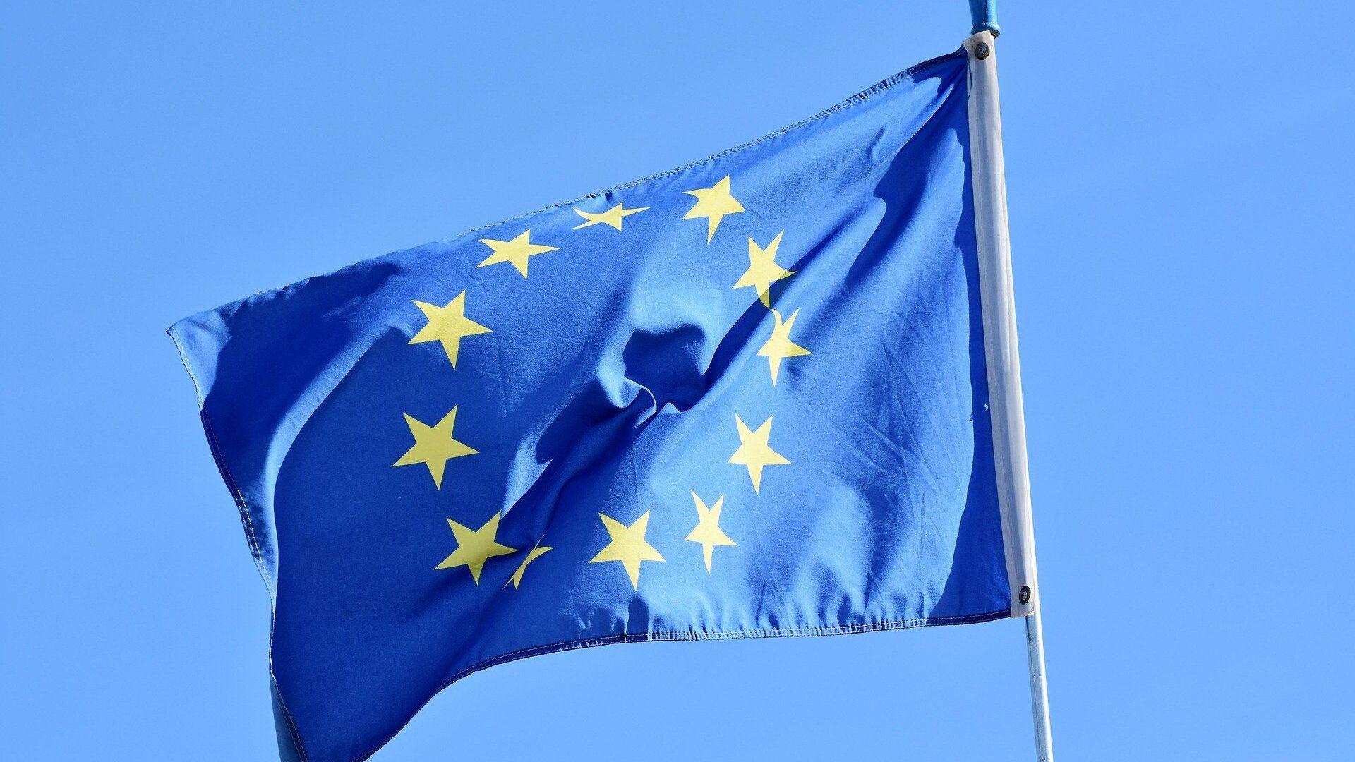 La bandera de la UE (imagen referencial) - Sputnik Mundo, 1920, 11.02.2021