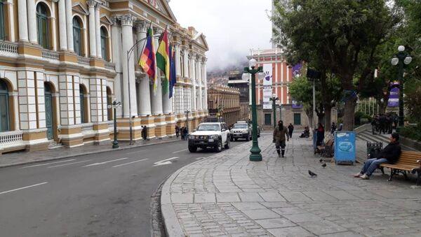 La sede de la Asamblea Legislativa en La Paz, Bolivia - Sputnik Mundo