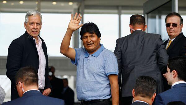 Evo Morales se asila en México - Sputnik Mundo