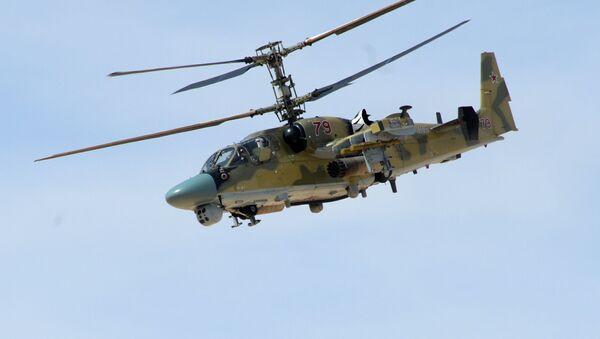 Un helicóptero ruso en Siria - Sputnik Mundo