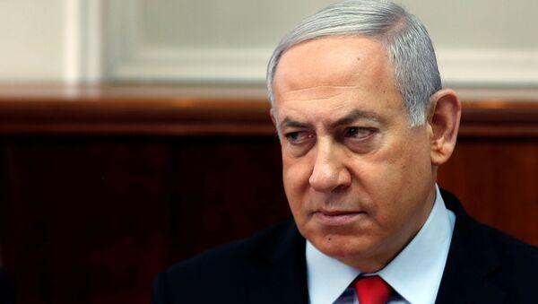 Benjamín Netanyahu, el primer ministro en funciones israeli - Sputnik Mundo
