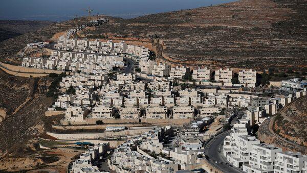 Viviendas en colonias judías en Palestina - Sputnik Mundo