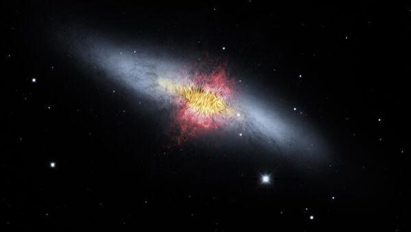 Una galaxia del Universo (imagen referencial) - Sputnik Mundo
