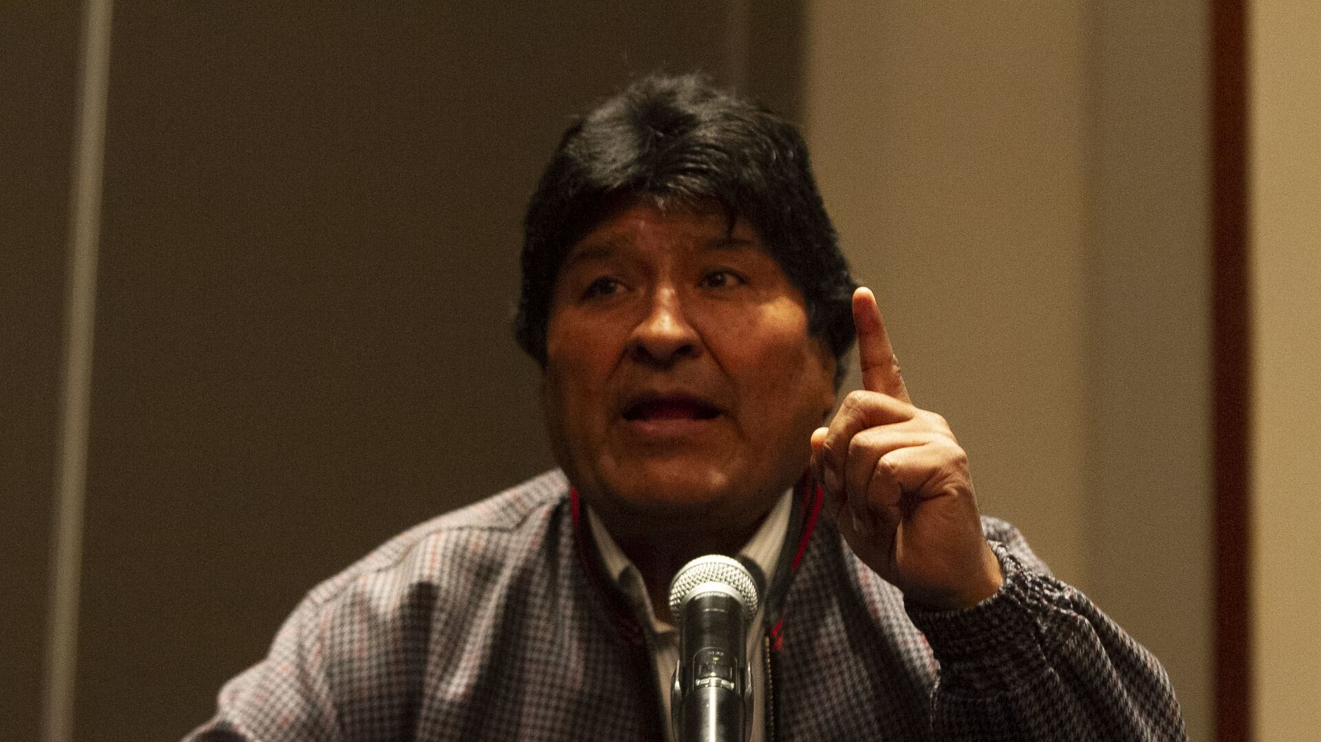 Evo Morales ofrece una rueda de prensa en la Ciudad de México, el 20 de noviembre de 2019 - Sputnik Mundo, 1920, 16.09.2021