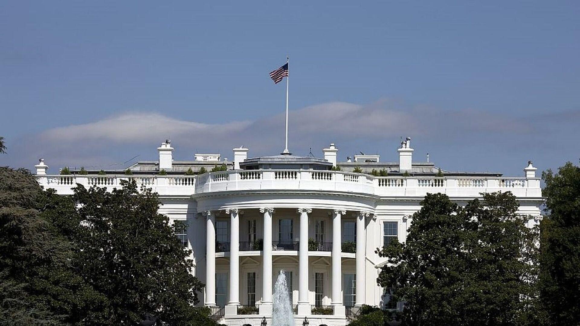 La Casa Blanca en Estados Unidos (imagen referencial) - Sputnik Mundo, 1920, 29.09.2021