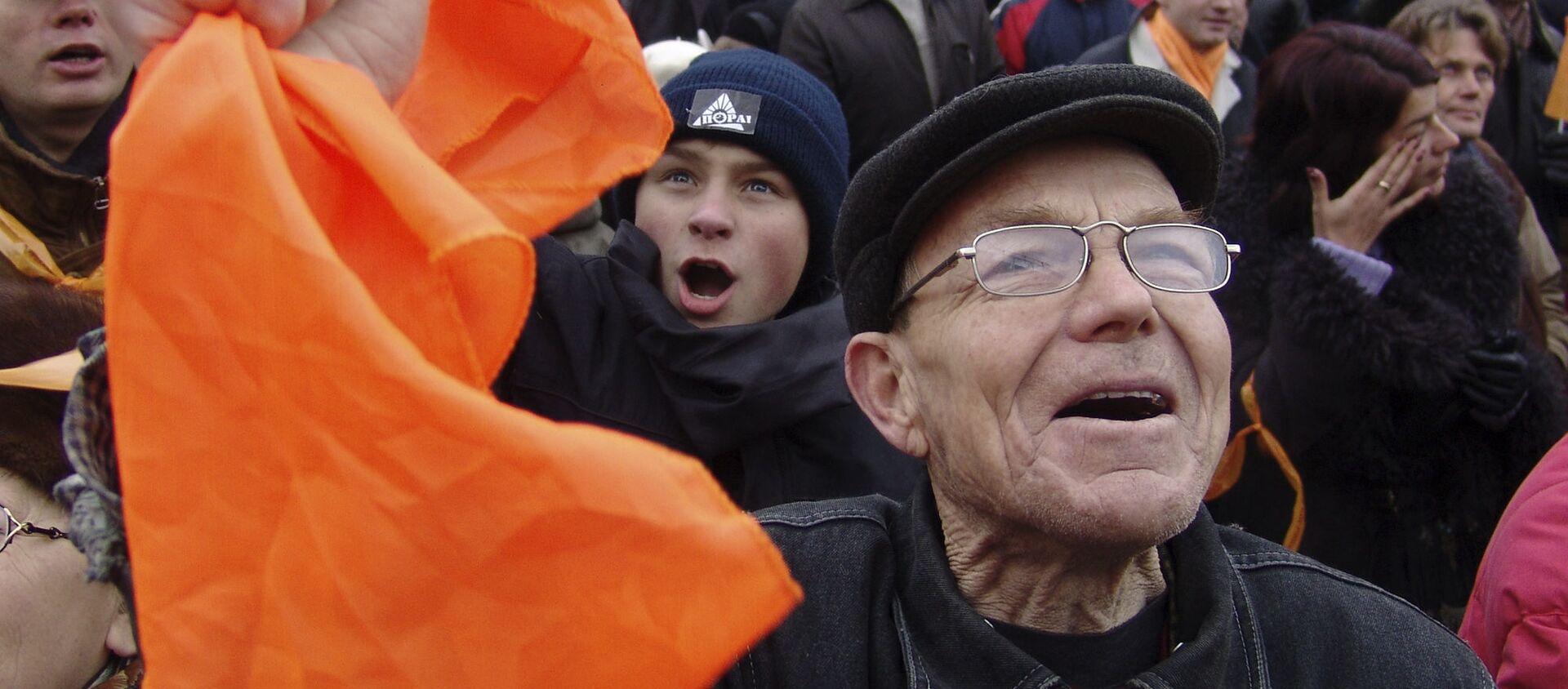 La Revolución Naranja en Ucrania - Sputnik Mundo, 1920, 22.11.2019