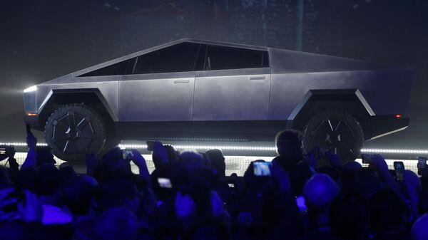 El Cybertruck de Tesla - Sputnik Mundo