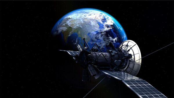 Un satélite en el espacio (imagen referencial) - Sputnik Mundo
