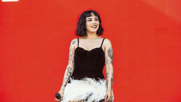 Mon Laferte, cantante chilena - Sputnik Mundo