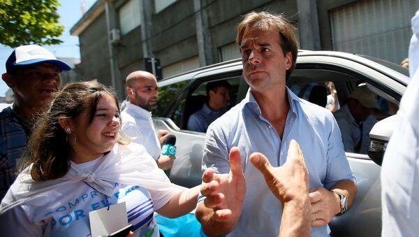 Luis Lacalle Pou, candidato presidencial uruguayo  - Sputnik Mundo