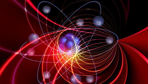 Moléculas (imagen referencial) - Sputnik Mundo