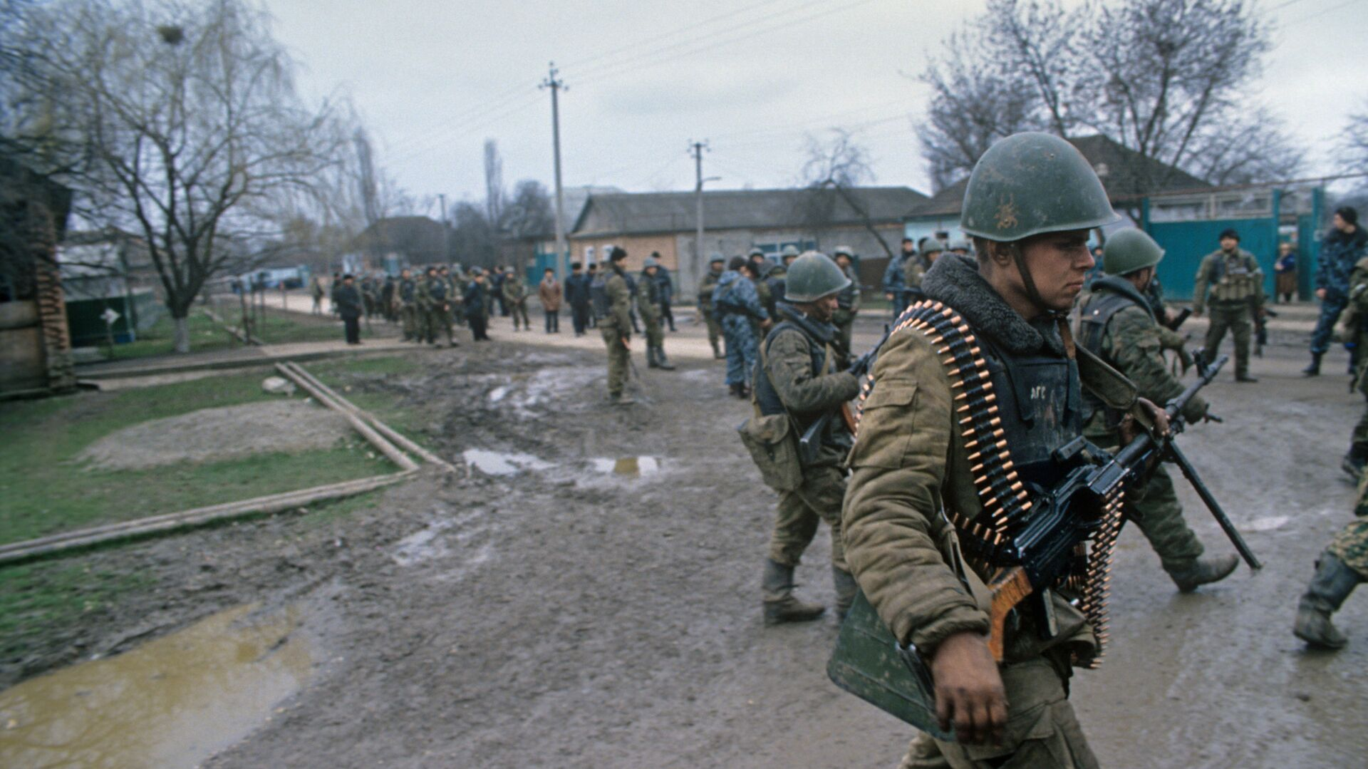 Soldados rusos en Chechenia - Sputnik Mundo, 1920, 18.02.2021