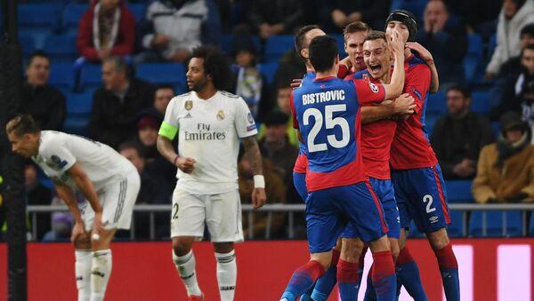 Real Madrid - CSKA Moscú, 0-3 - Sputnik Mundo