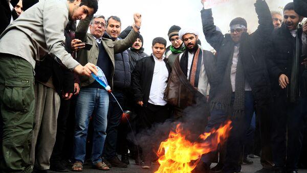Disturbios en Irán - Sputnik Mundo