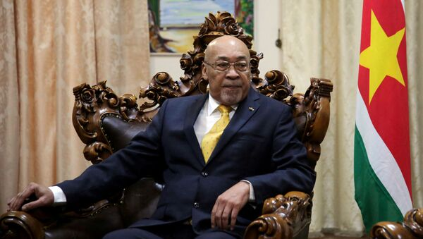 Desi Bouterse, presidente de Surinam - Sputnik Mundo