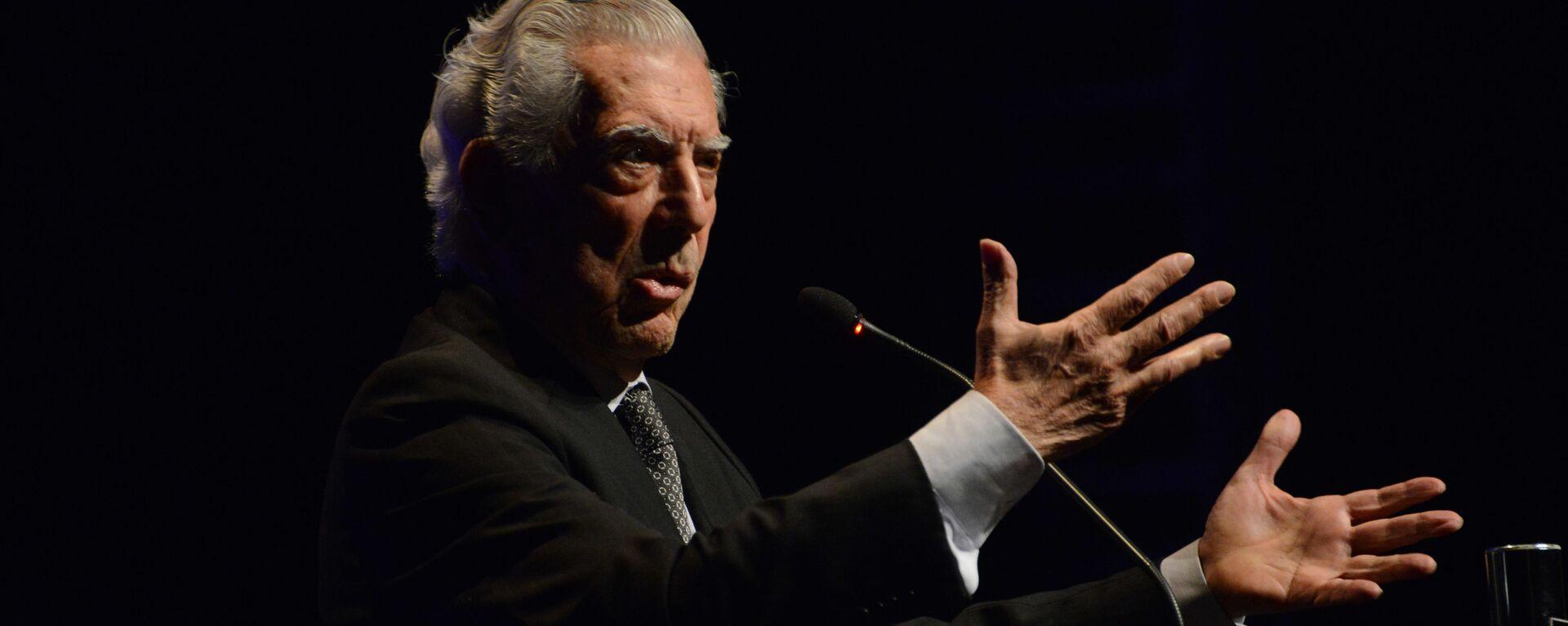 El escritor peruano Mario Vargas Llosa - Sputnik Mundo, 1920, 09.09.2021