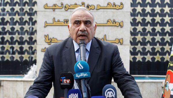 Adel Abdul Mahdi, primer ministro de Irak - Sputnik Mundo