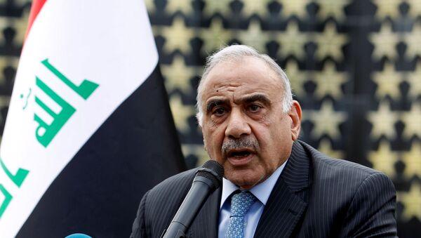 Adel Abdul Mahdi, ex primer ministro de Irak - Sputnik Mundo