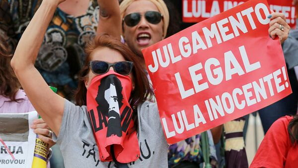 Partidarios de Lula - Sputnik Mundo