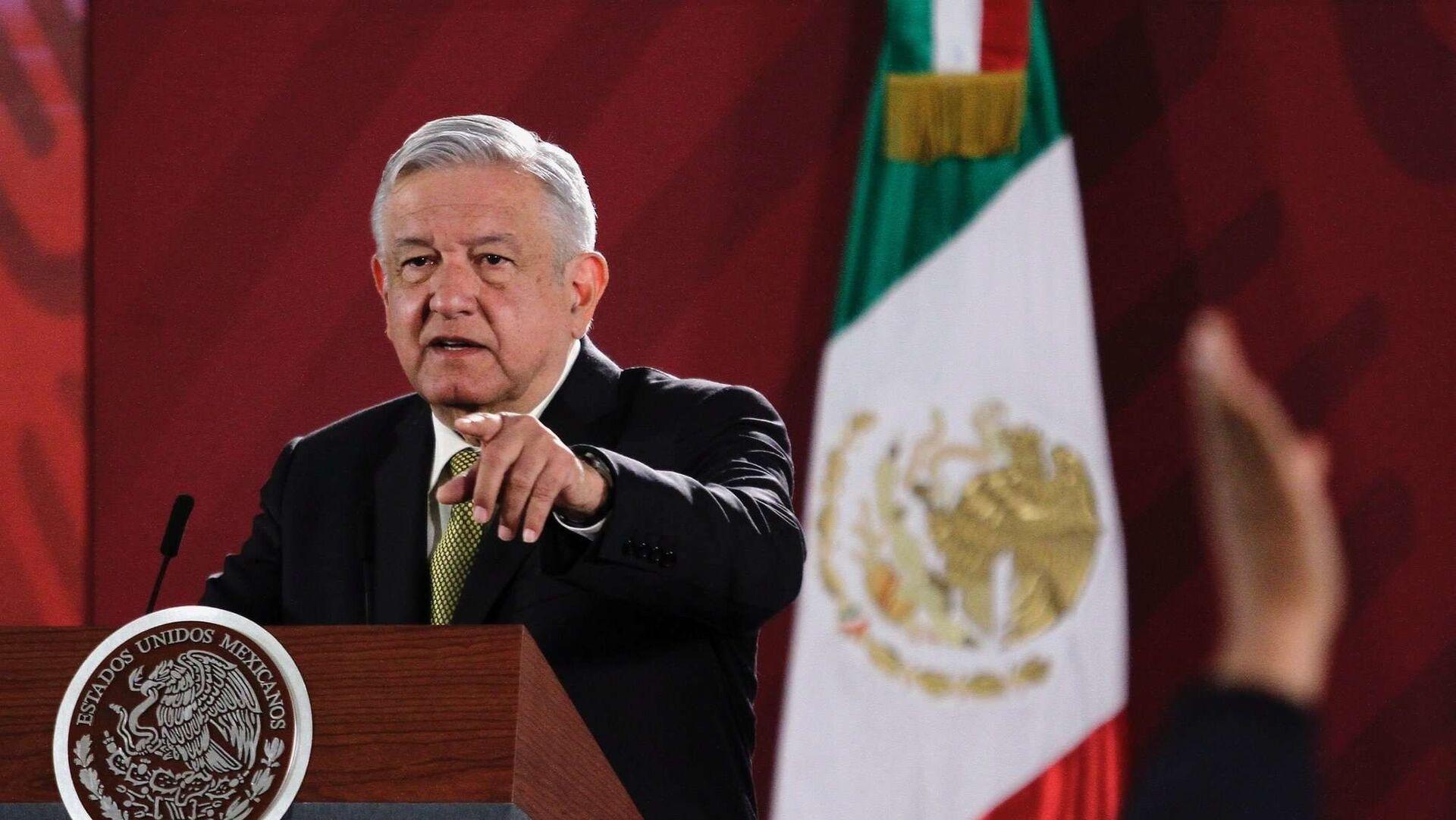 Andrés Manuel López Obrador, presidente de México - Sputnik Mundo, 1920, 07.10.2021