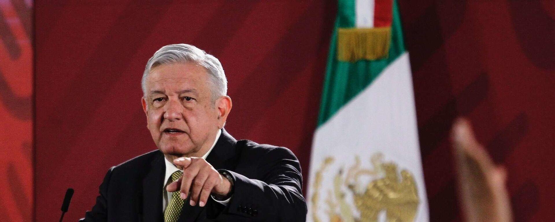 Andrés Manuel López Obrador, presidente de México - Sputnik Mundo, 1920, 23.12.2020