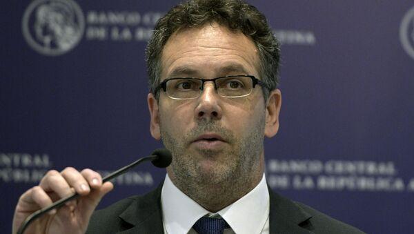 Guido Sandleris, presidente del Banco Central de la República Argentina - Sputnik Mundo