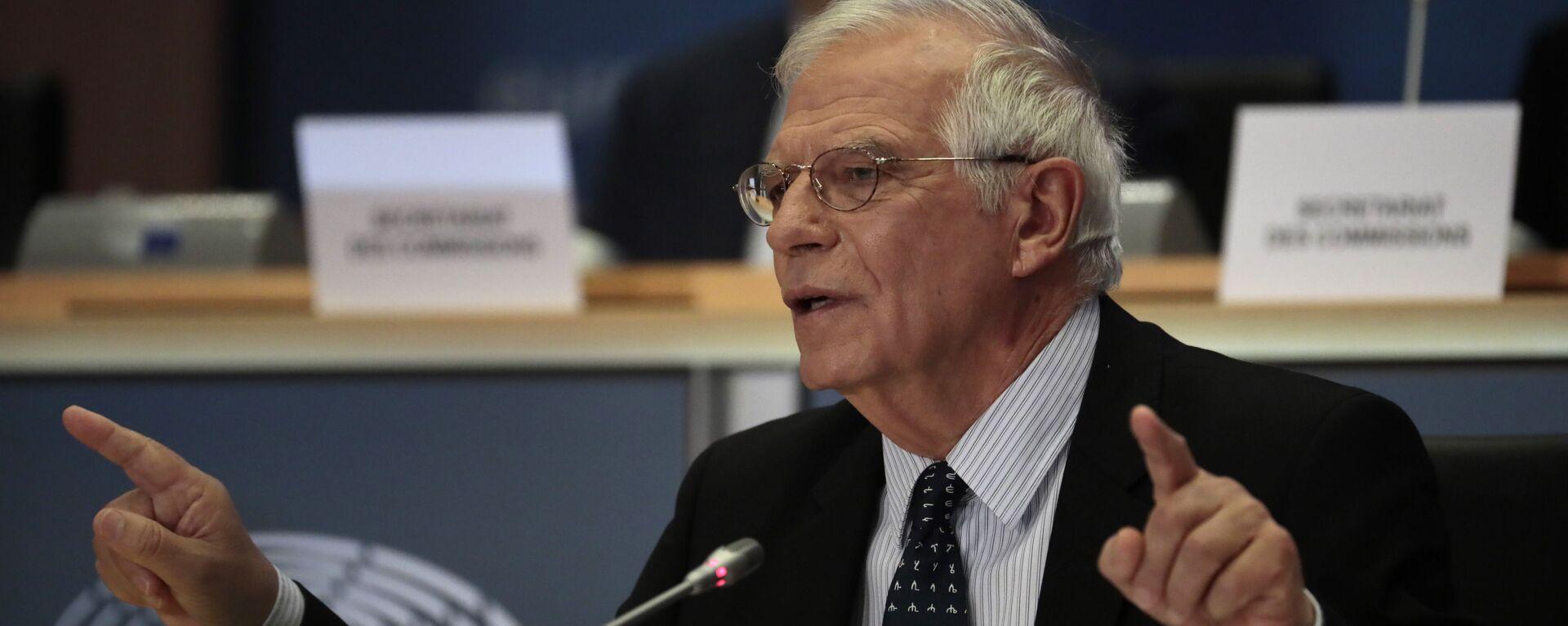Josep Borrell, el jefe de la diplomacia de la UE - Sputnik Mundo, 1920, 19.08.2021
