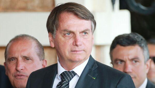 Jair Bolsonaro, el presidente de Brasil - Sputnik Mundo