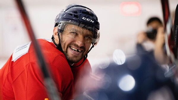 Alexandr Ovechkin, jugador ruso de hockey - Sputnik Mundo