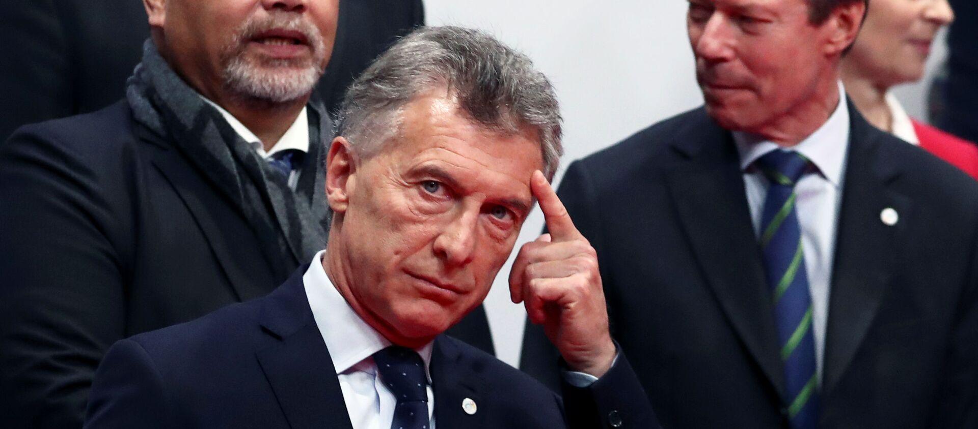 Mauricio Macri durante la Conferencia por el Cambio Climático en Madrid, España - Sputnik Mundo, 1920, 09.12.2019